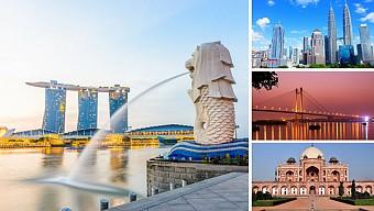 Lịch Khởi Hành Tour Singapore-Malaysia 6 ngày 5 đêm Năm 2018