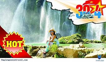 Tour Hồ Ba Bể - Thác Bản Giốc - Hang Pác Pó Đang Giảm Giá Dịp 30/4/2018