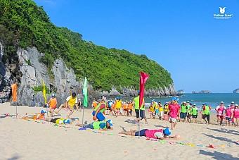 Biển Nhật Lệ - Viếng Mộ Đại Tướng Võ Nguyên Giáp - Động Thiên Đường - bãi đá Nhảy