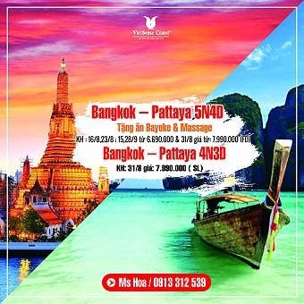 Các địa điểm thăm quan Du Lịch Thái Lan