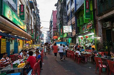 China Town Yangon