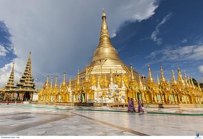 Chùa vàng Bago Shwe Maw Daw