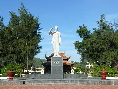 Khu tượng đài Bác Hồ