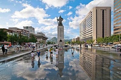 Quảng Trường Gwanghwamun Square