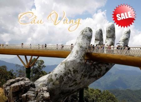 He2019. Tour Hà Nội- Đà Nẵng- Bà Nà- Hội An Hè 2019. Bao vé máy bay.