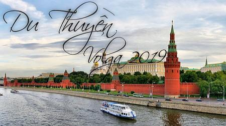 Du Thuyền 5* Trên Sông Volga 13N Saint Petersburg - Moscow 2019