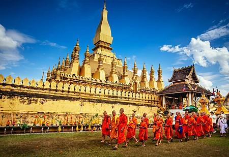 Tour Lào Đường Bộ 6 Ngày - Luang Prabang - Xiêng Khoảng