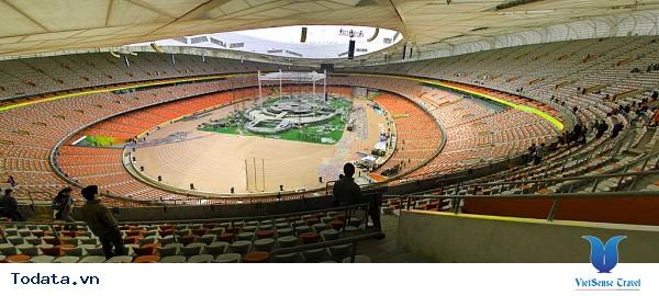Sân vận động tổ chim – Kiến trúc Âu Á giữa lòng Bắc Kinh - Ảnh 1
