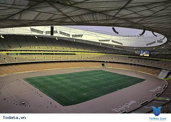 Sân vận động tổ chim – Kiến trúc Âu Á giữa lòng Bắc Kinh - Ảnh 2