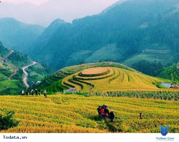 Vùng Núi Tây Bắc - Say Đắm Những Cung Đường Ngắm Mùa Lúa Vàng - Ảnh 3