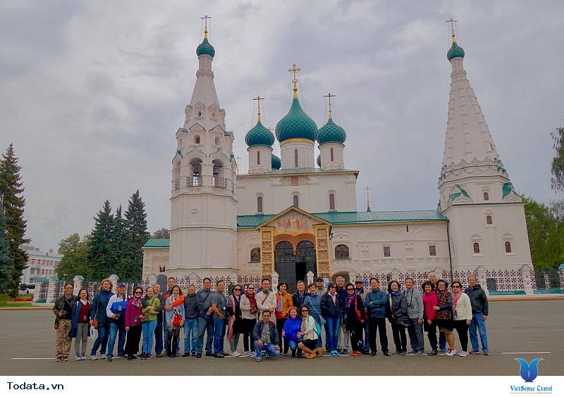 Review Hành Trình Khám Phá Nước Nga Tour Volga Cruise (P3- Yaroslavl- Goritsy) - Ảnh 3