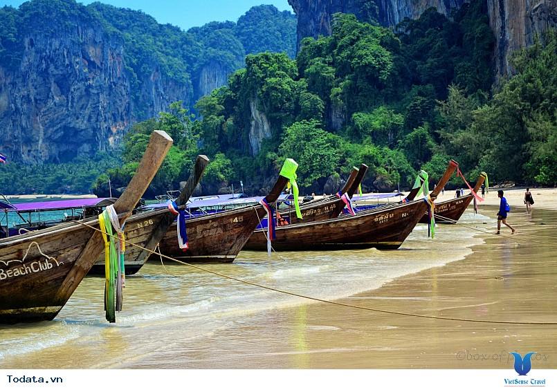 Bán đảo Railay tuyệt đẹp ở Thái Lan - Ảnh 3