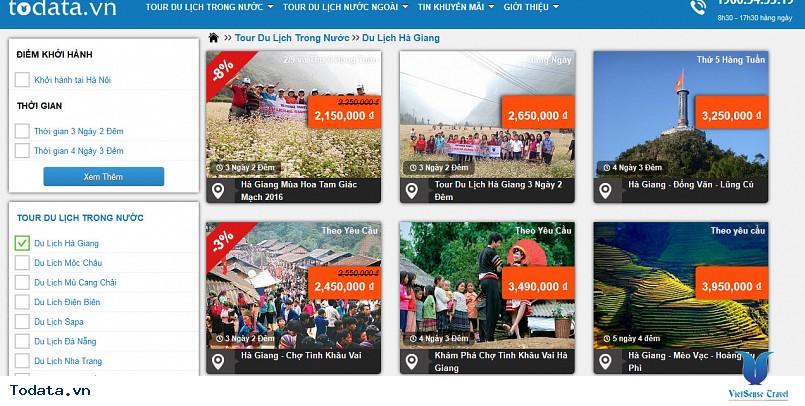 Hướng dẫn đăng ký tour trực tuyển trên Todata.vn - Ảnh 2