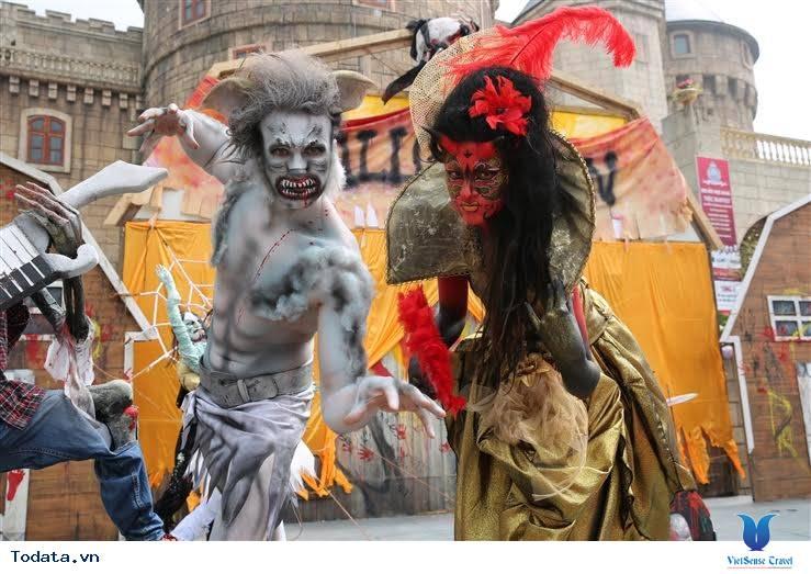 Lễ hội Halloween tại Bà Nà Hills - Ảnh 4