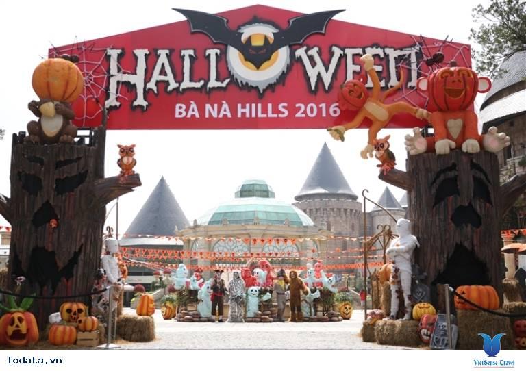 Lễ hội Halloween tại Bà Nà Hills - Ảnh 1