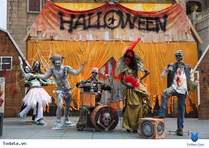 Lễ hội Halloween tại Bà Nà Hills - Ảnh 2