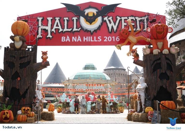 Lễ hội Halloween tại Bà Nà Hills