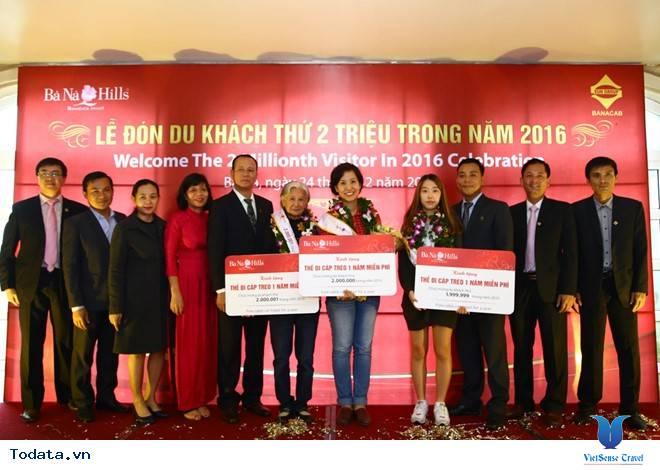 Bà Nà Hills cán mốc 2 triệu lượt khách du lịch - Ảnh 1