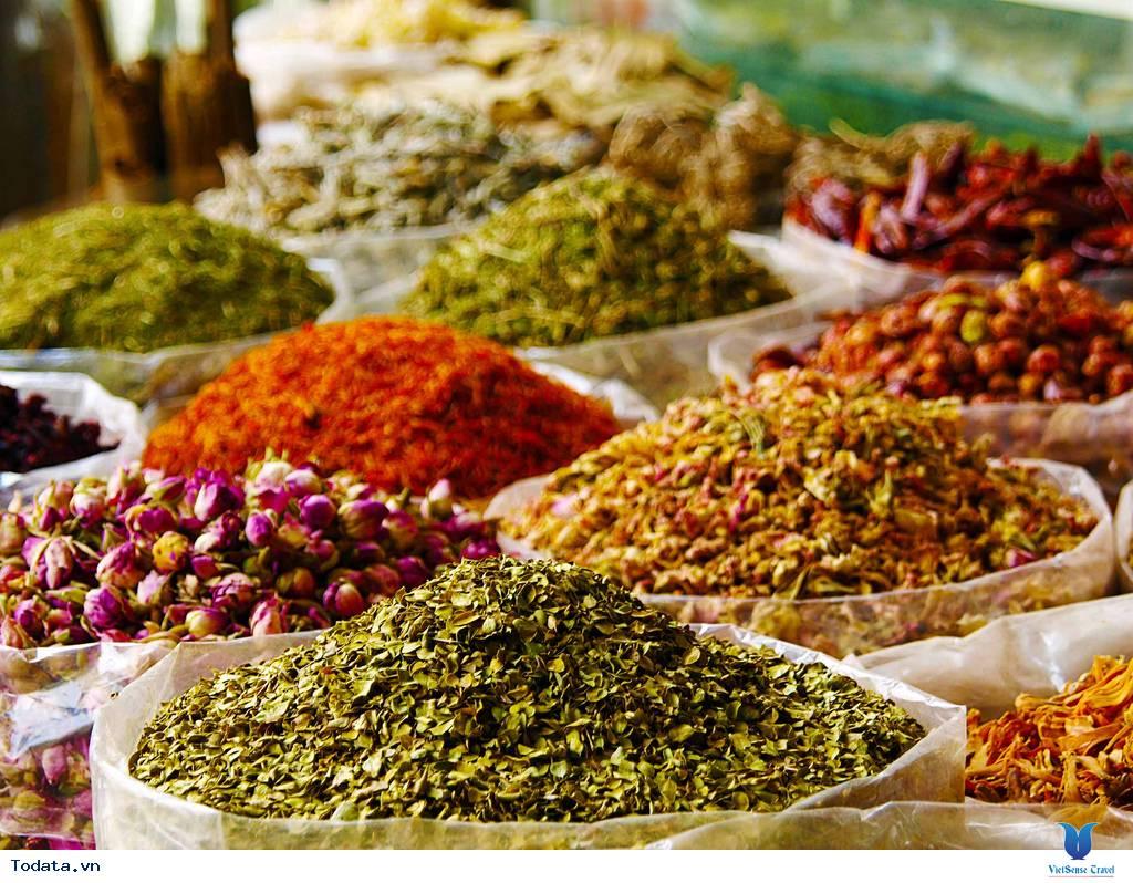 Chợ Gia Vị Spice Souk, Sắc Màu Gia Vị Dubai - Ảnh 2