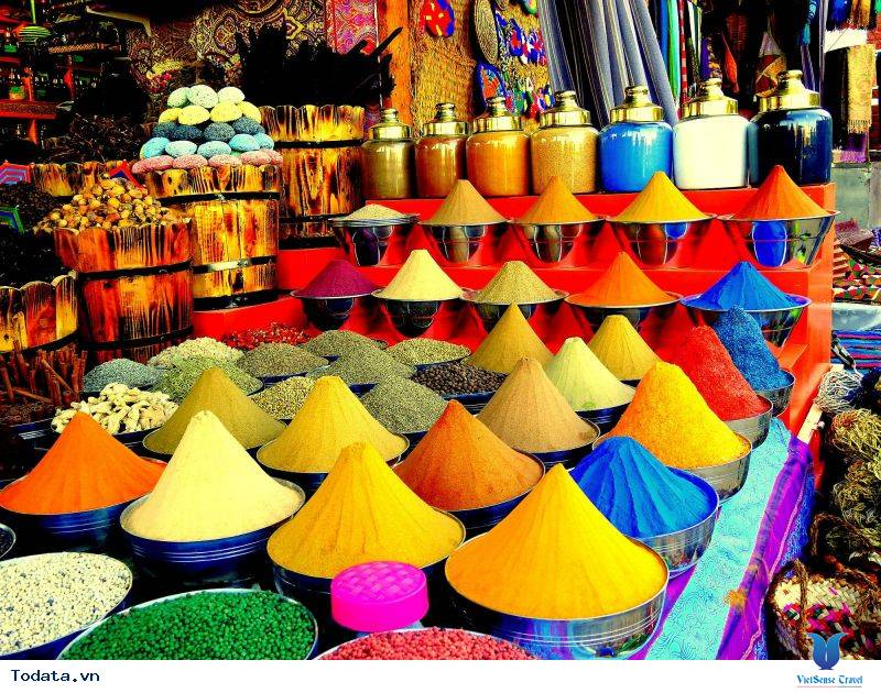 Chợ Gia Vị Spice Souk, Sắc Màu Gia Vị Dubai - Ảnh 9