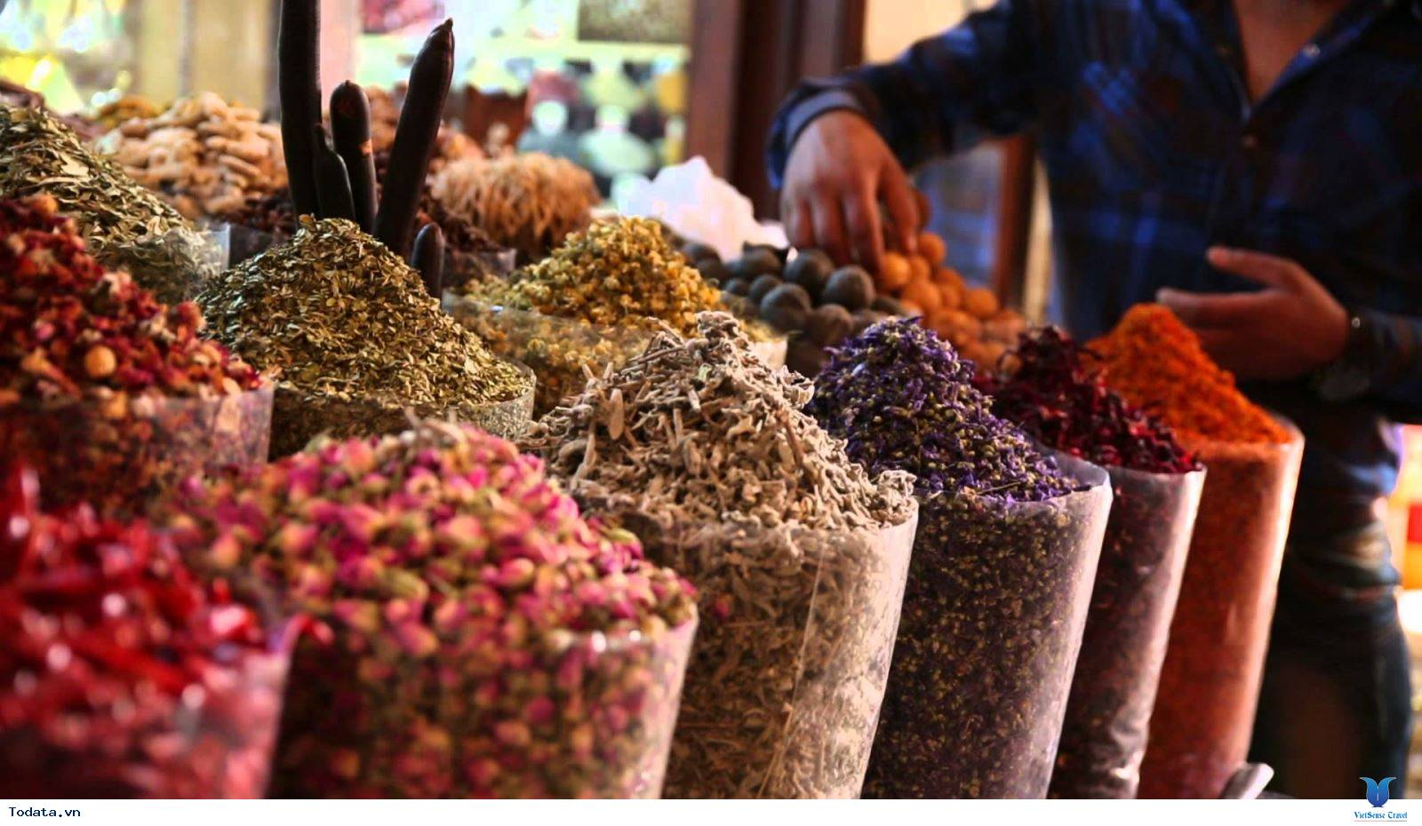 Chợ Gia Vị Spice Souk, Sắc Màu Gia Vị Dubai - Ảnh 4