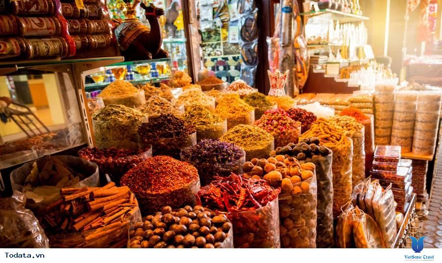 Chợ Gia Vị Spice Souk, Sắc Màu Gia Vị Dubai - Ảnh 10