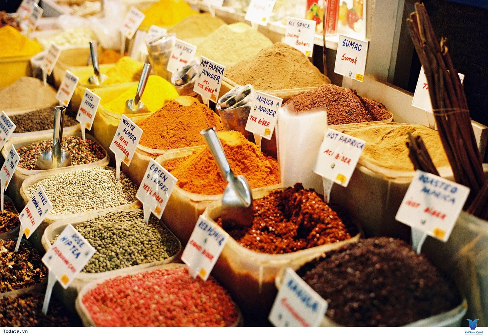 Chợ Gia Vị Spice Souk, Sắc Màu Gia Vị Dubai - Ảnh 3