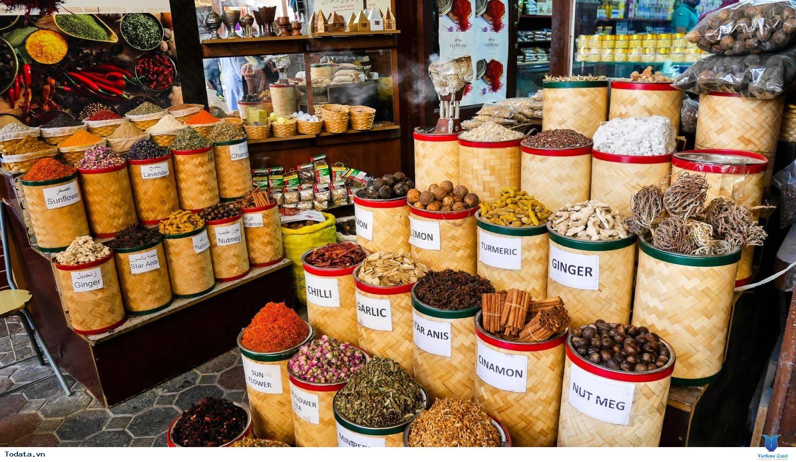 Chợ Gia Vị Spice Souk, Sắc Màu Gia Vị Dubai - Ảnh 7