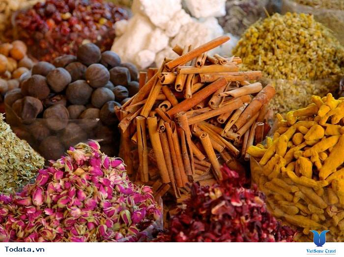 Chợ Gia Vị Spice Souk, Sắc Màu Gia Vị Dubai - Ảnh 8