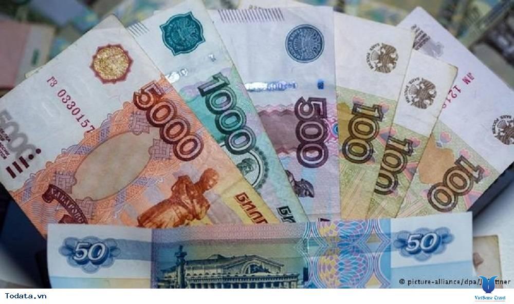 Kết quả hình ảnh cho tiền Nga