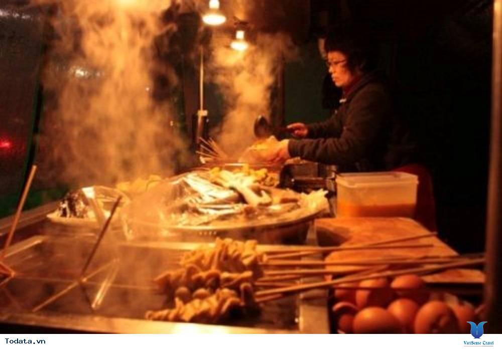 Đồ ăn vặt siêu rẻ ở Hàn Quốc - Ảnh 1