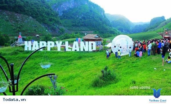 Happy Land Mộc Châu Thiên Đường Trên Cao Nguyên - Ảnh 1