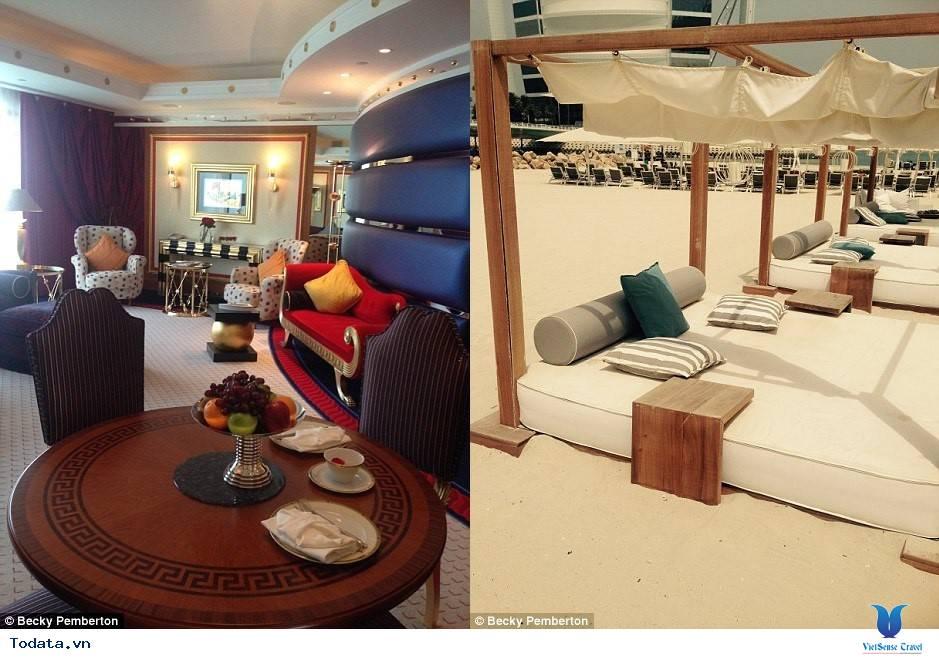 Bên trong khách sạn 7* Dubai - Khách sạn cánh buồm Burj Al Arab - Ảnh 15