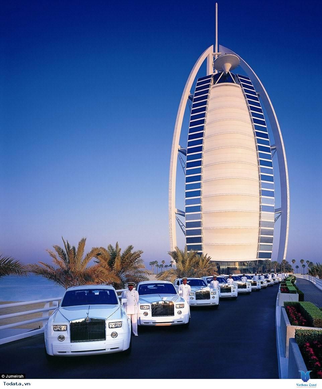 Bên trong khách sạn 7* Dubai - Khách sạn cánh buồm Burj Al Arab - Ảnh 1