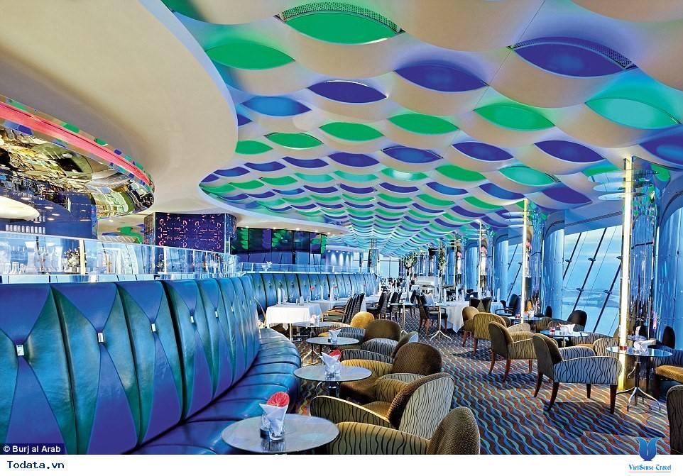 Bên trong khách sạn 7* Dubai - Khách sạn cánh buồm Burj Al Arab - Ảnh 14