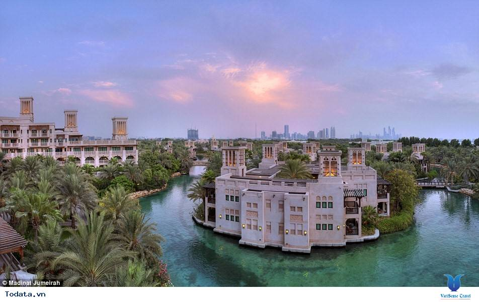 Bên trong khách sạn 7* Dubai - Khách sạn cánh buồm Burj Al Arab - Ảnh 18