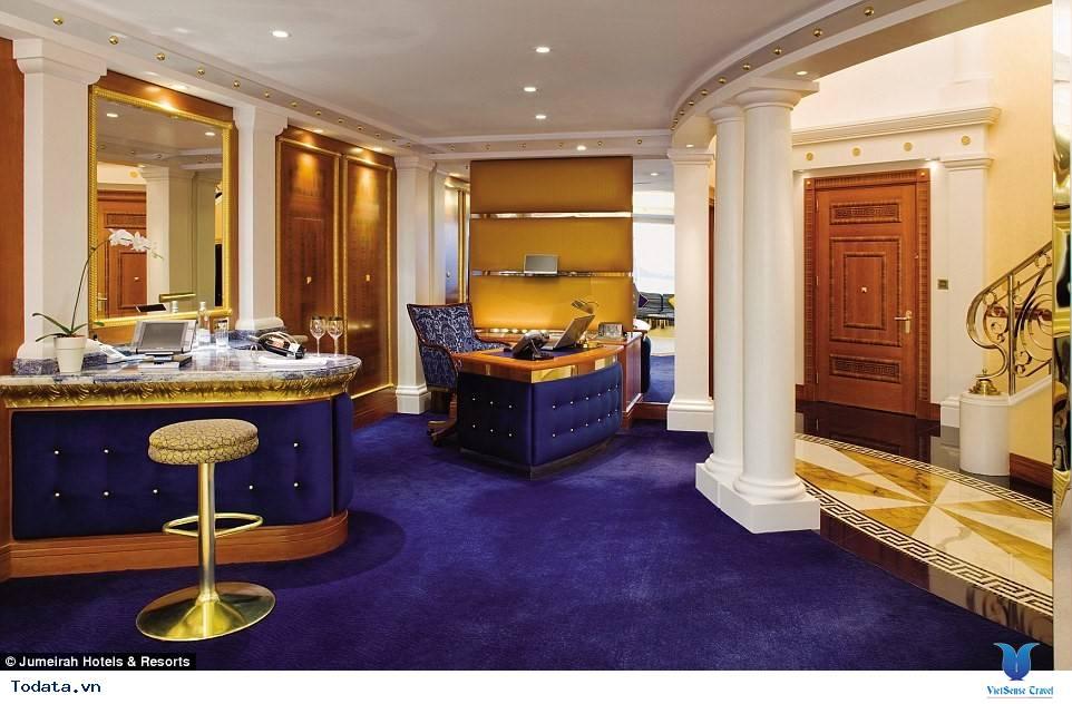 Bên trong khách sạn 7* Dubai - Khách sạn cánh buồm Burj Al Arab - Ảnh 5
