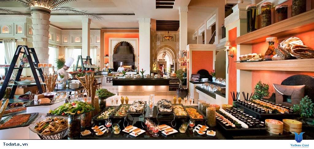 Bên trong khách sạn 7* Dubai - Khách sạn cánh buồm Burj Al Arab - Ảnh 19