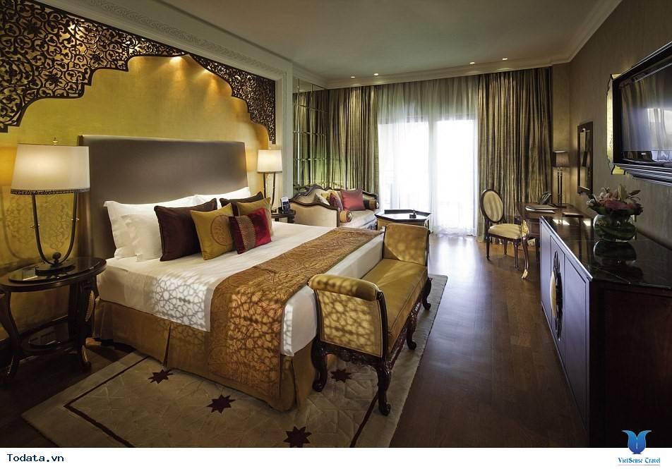 Bên trong khách sạn 7* Dubai - Khách sạn cánh buồm Burj Al Arab - Ảnh 17