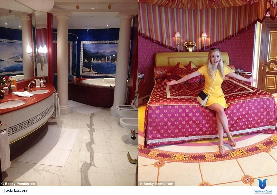 Bên trong khách sạn 7* Dubai - Khách sạn cánh buồm Burj Al Arab - Ảnh 4