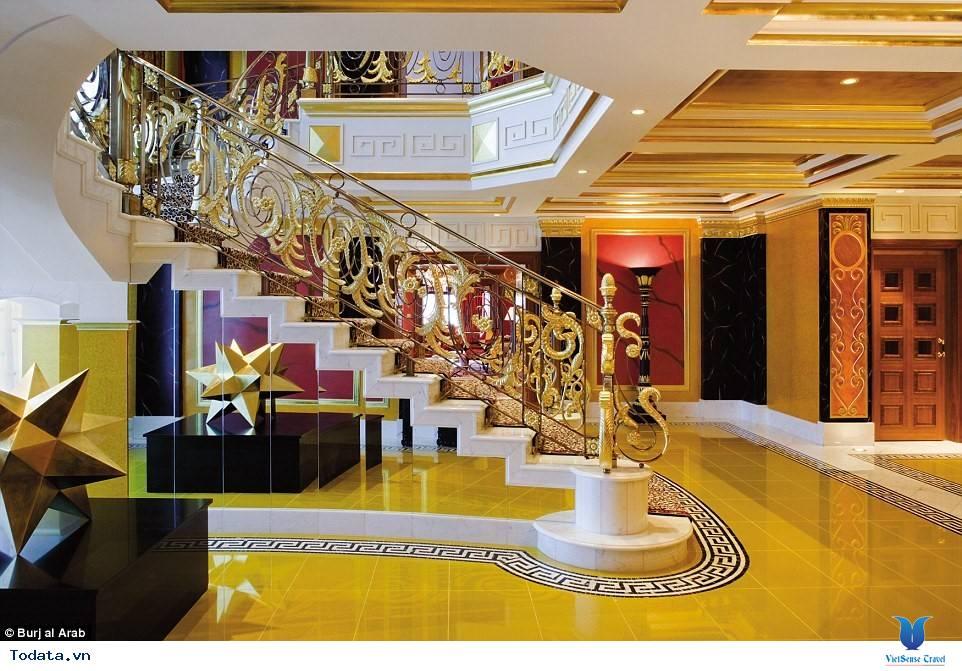 Bên trong khách sạn 7* Dubai - Khách sạn cánh buồm Burj Al Arab - Ảnh 11