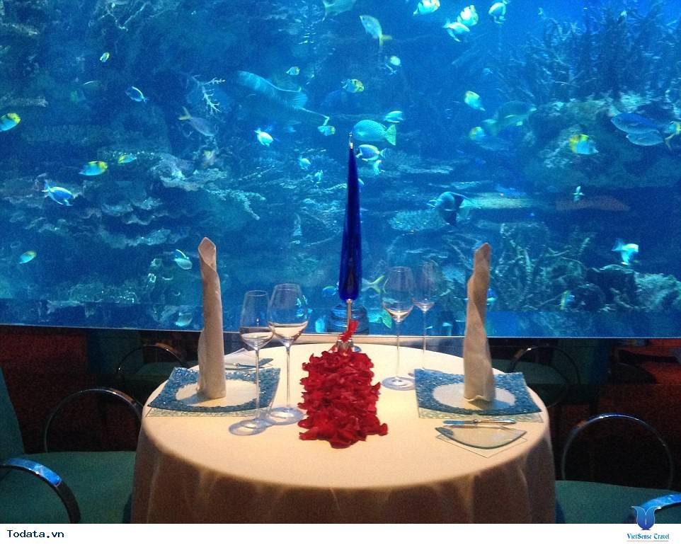 Bên trong khách sạn 7* Dubai - Khách sạn cánh buồm Burj Al Arab - Ảnh 13