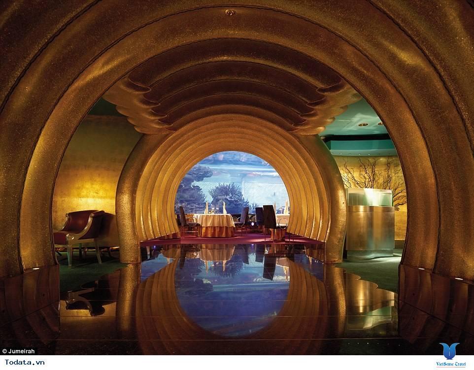 Bên trong khách sạn 7* Dubai - Khách sạn cánh buồm Burj Al Arab - Ảnh 12