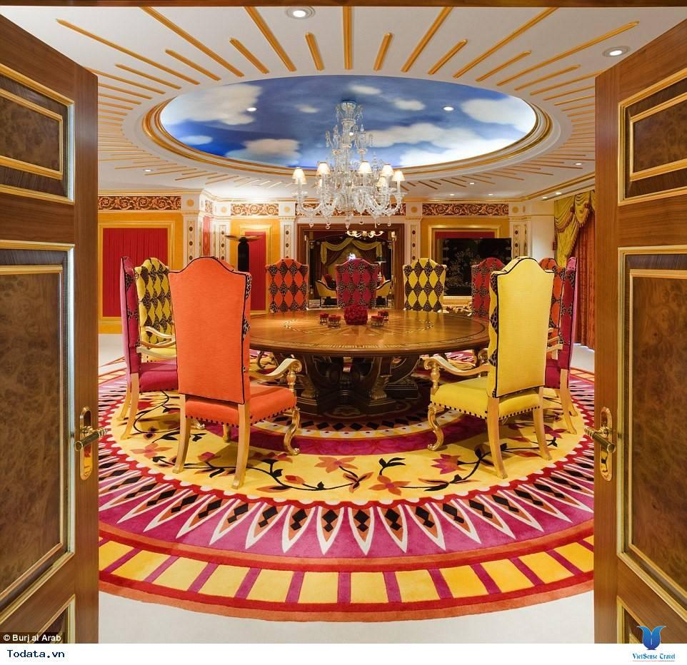 Bên trong khách sạn 7* Dubai - Khách sạn cánh buồm Burj Al Arab - Ảnh 9