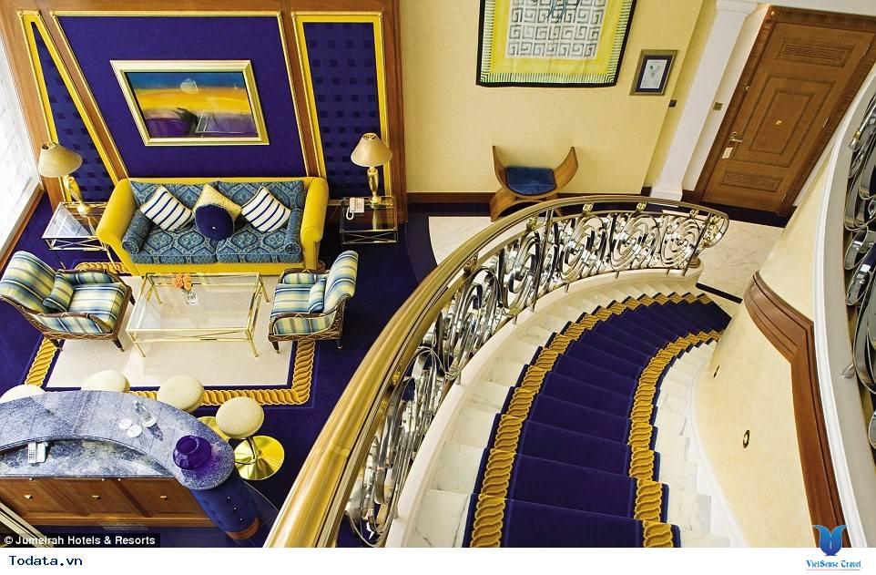 Bên trong khách sạn 7* Dubai - Khách sạn cánh buồm Burj Al Arab - Ảnh 3