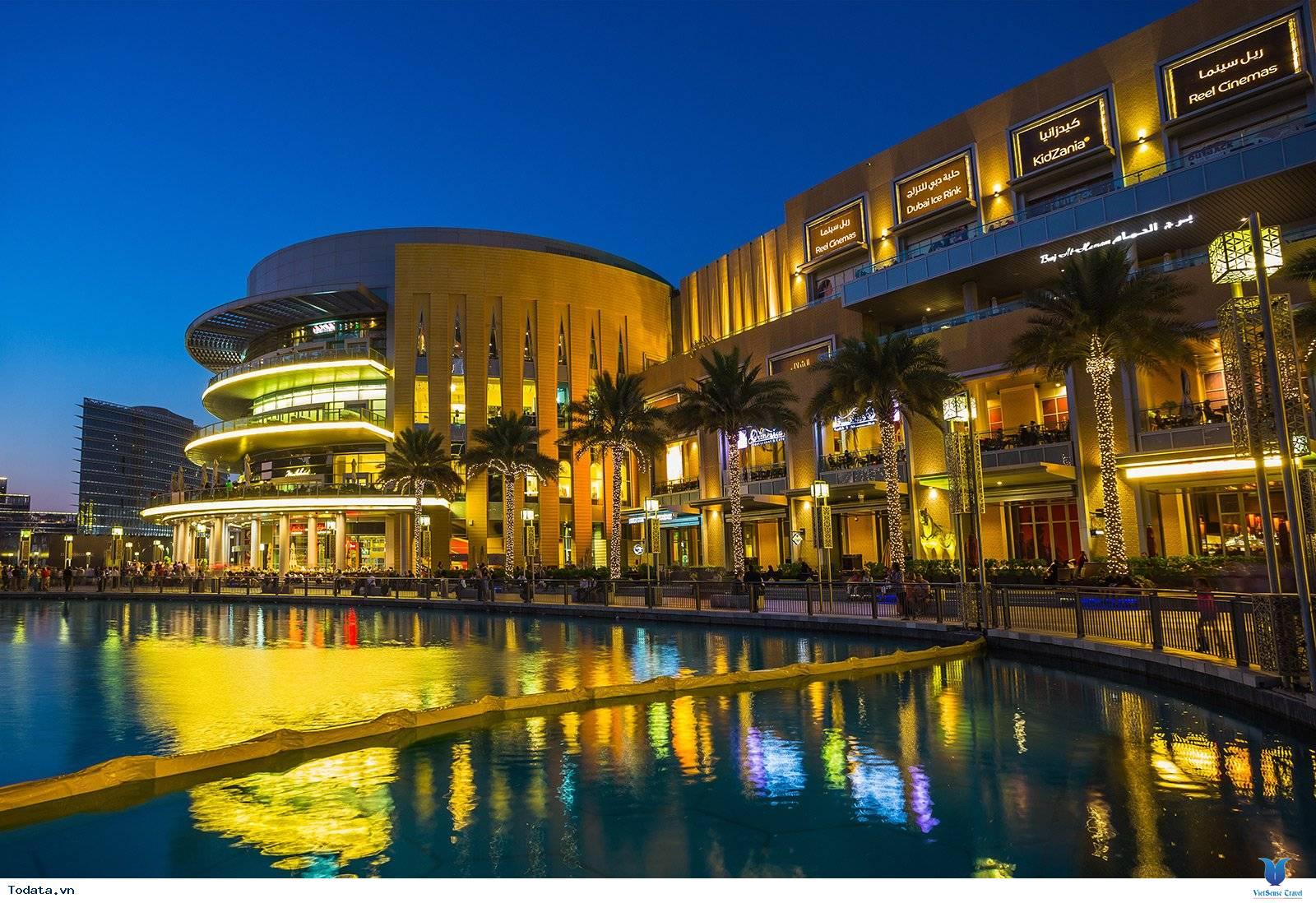 Khám Phá Trung Tâm Mua Sắm Lớn Nhất Thế Giới Dubai Mall - Ảnh 1