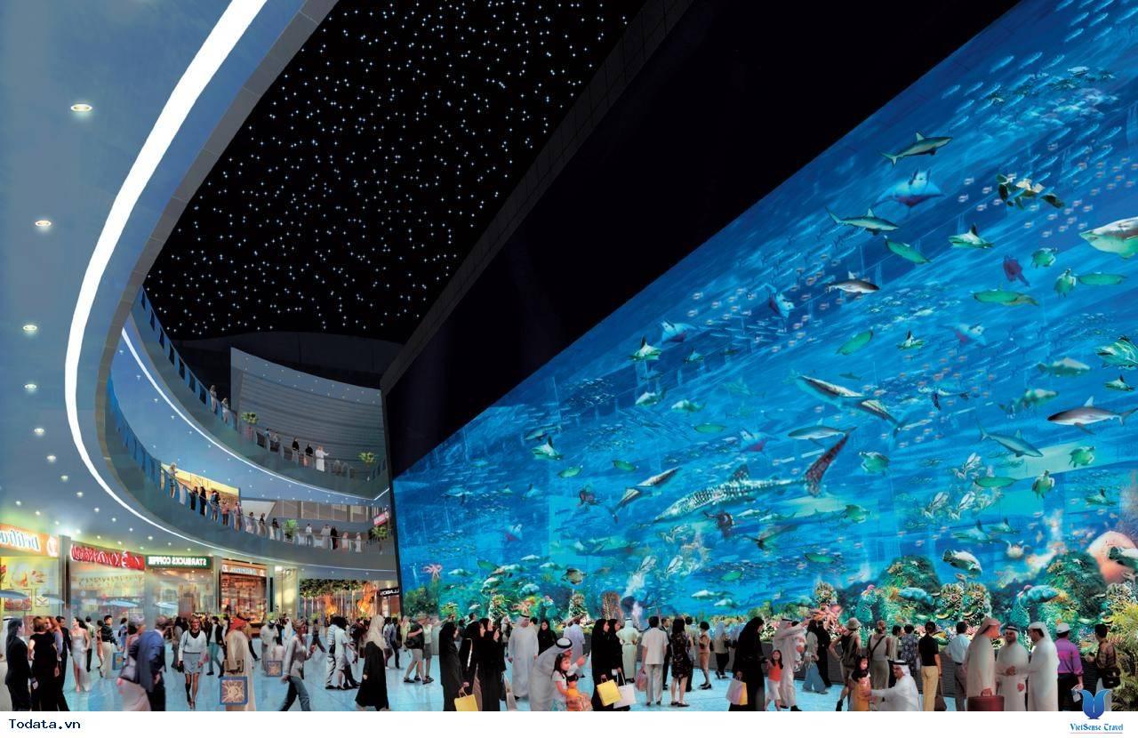 Khám Phá Trung Tâm Mua Sắm Lớn Nhất Thế Giới Dubai Mall - Ảnh 4