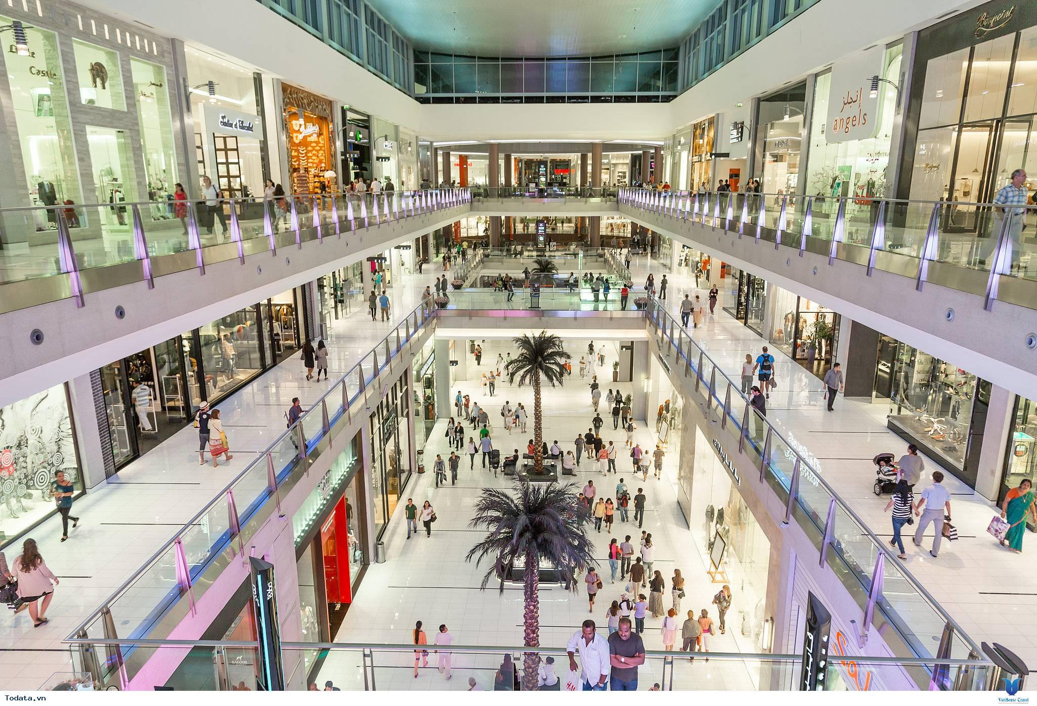 Khám Phá Trung Tâm Mua Sắm Lớn Nhất Thế Giới Dubai Mall - Ảnh 2