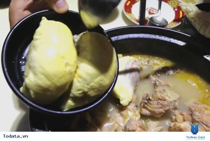 Lạ miệng món ăn lẩu sầu riêng ở Quảng Châu, Trung Quốc - Ảnh 2