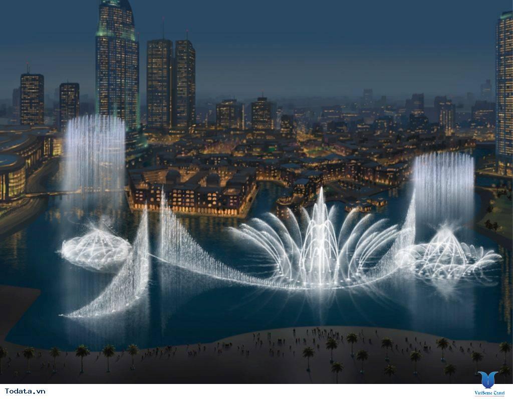 Mãn Nhãn Với Đài Phun Nước Lớn Nhất Thế Giới Ở Dubai - Ảnh 2